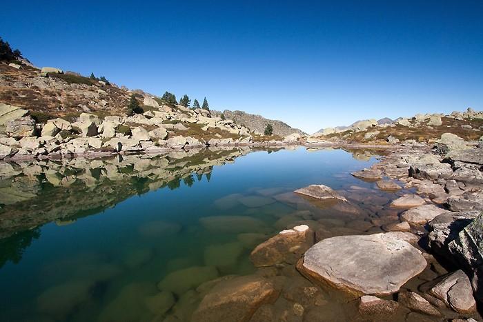Randonnée au lac de Bastampe