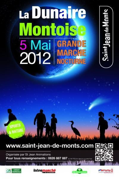 Randonnée pédestre : La Dunaire Montoise à Saint Jean de Monts - 5 mai 2012