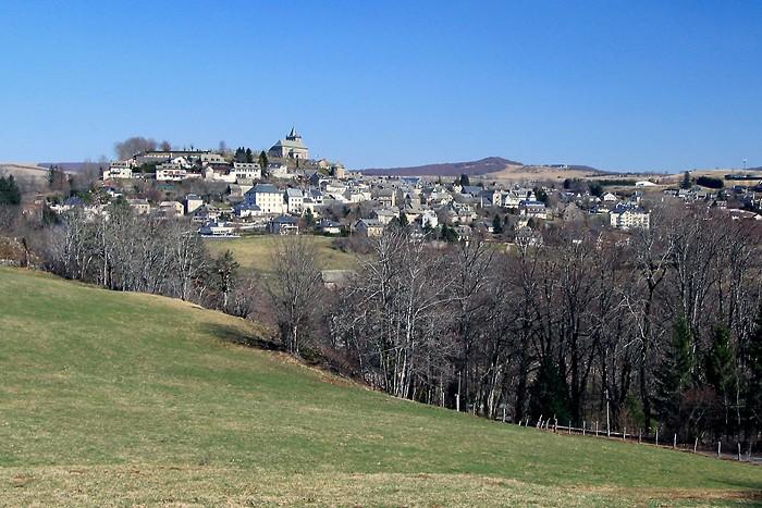 Village de Laguiole en Aveyron