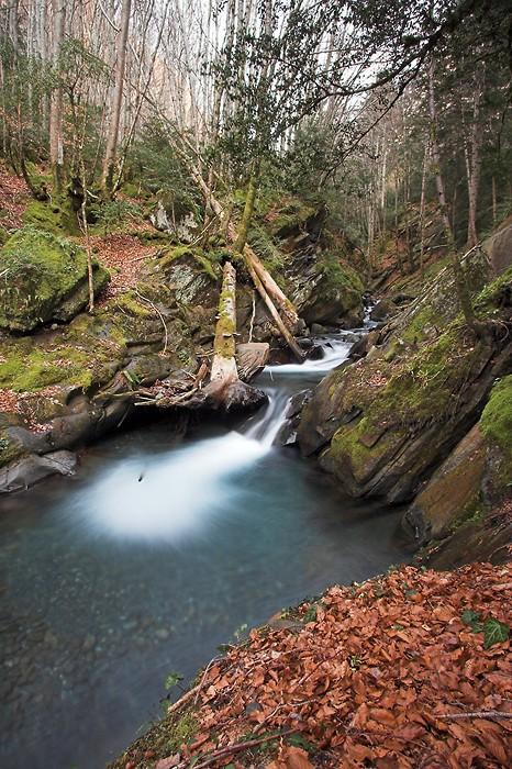 Cascades dans les Pyrénées (Pragnères)