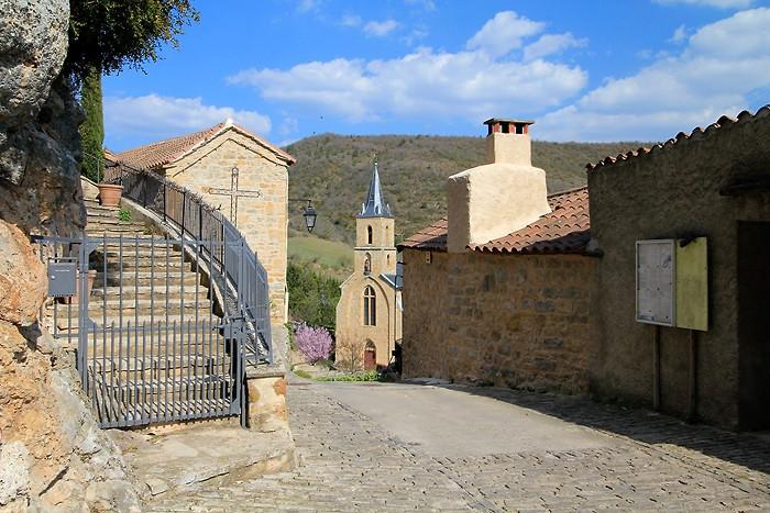 Visite du village de Peyre
