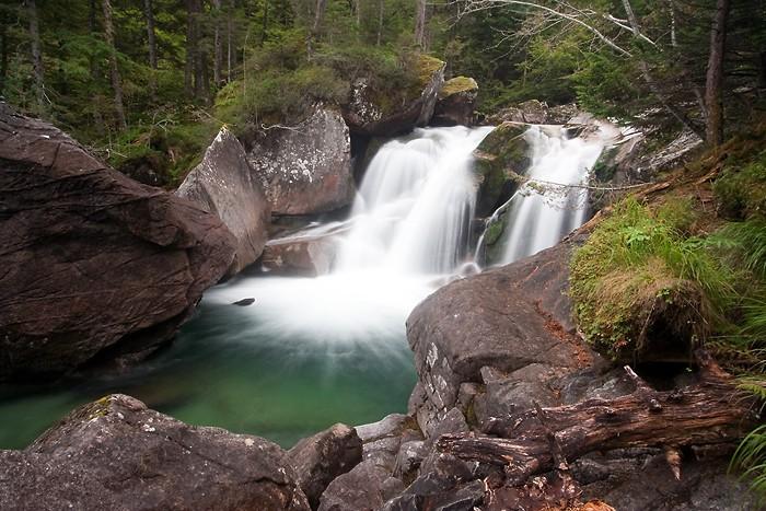 Grosse cascade à Cauterets