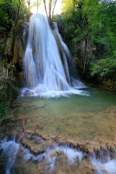 Cascade pétrifiante de Caylus