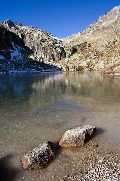 Randonnée au lac de l'Embarrat