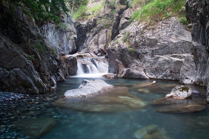 Petite cascade juste au dessus de Gavarnie