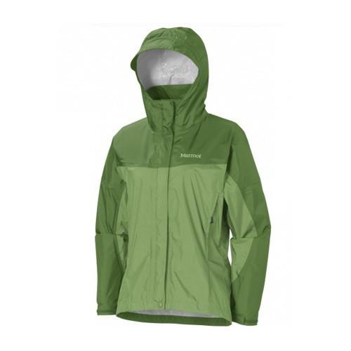 Marmot W's PreCip Jacket Grass