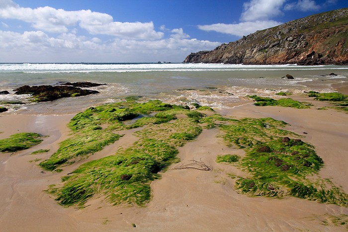 Plage de la baie des Trépassés en Bretagne