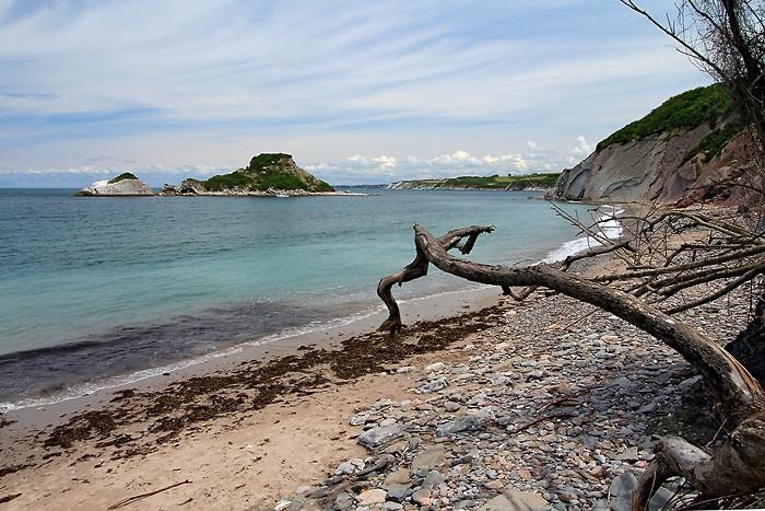 Randonnée dans le Pays Basque sur le domaine d'Abbadia