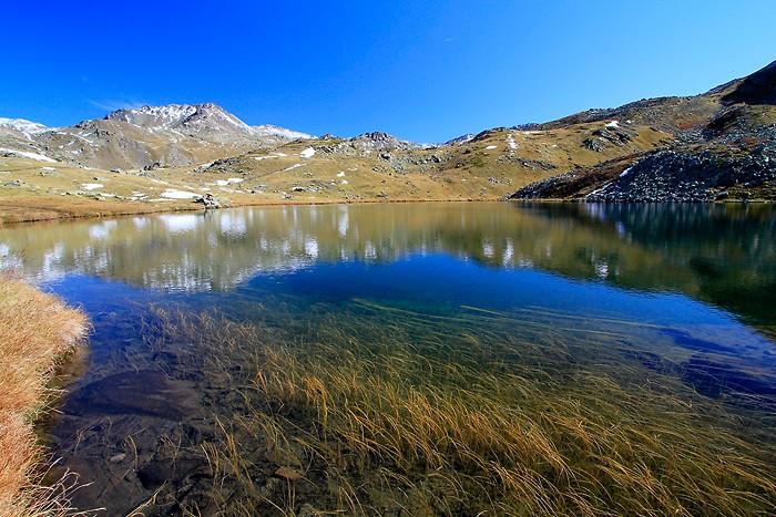 Arrivée au lac Long dans les Hautes-Alpes