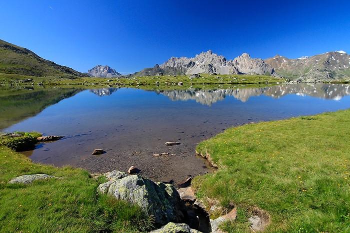 Lac Laramon dans les Hautes-Alpes