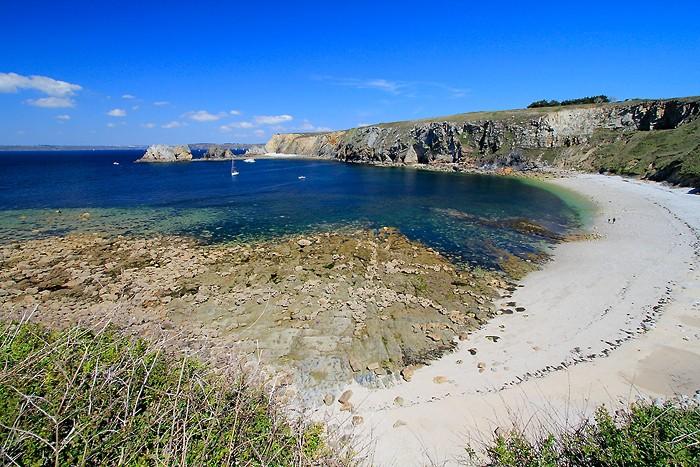 La belle plage de Porzh Naye