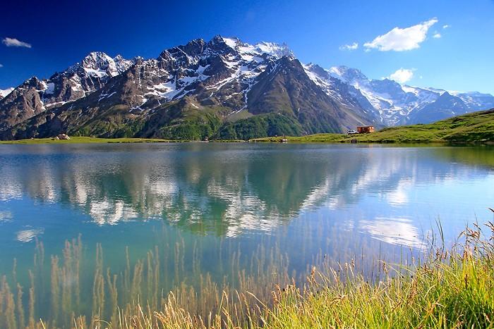 Lac du Pontet dans les Hautes-Alpes