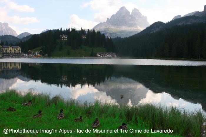 DOLOMITES- Lac de Misurina