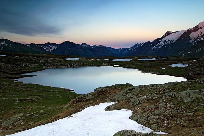 Lac Noir en début de soirée