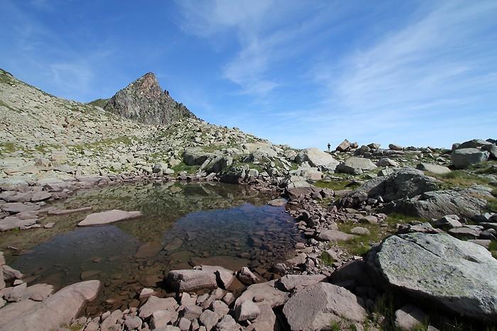 Lac de Cantet dans les Pyrénées