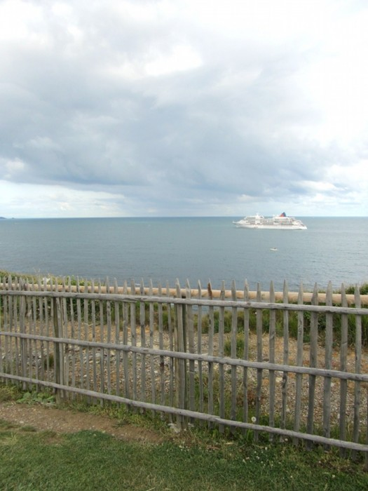 La mer depuis Saint Jean de Luz