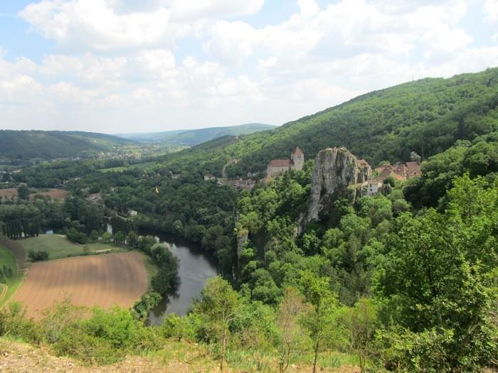 Saint Cirq Lapopie et sa vallée du Lot