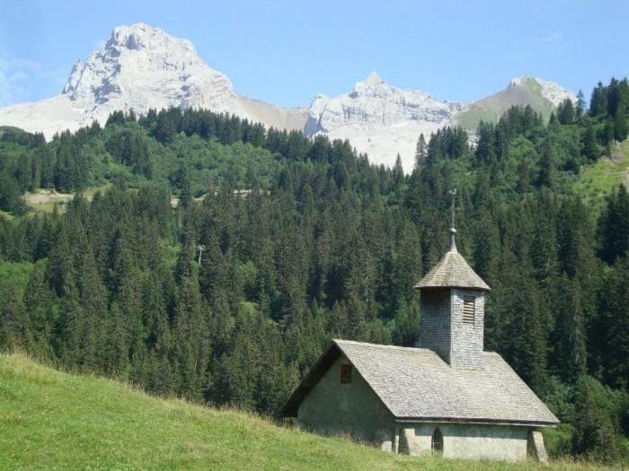 Chapelle de la Duche et la Pointe Percée
