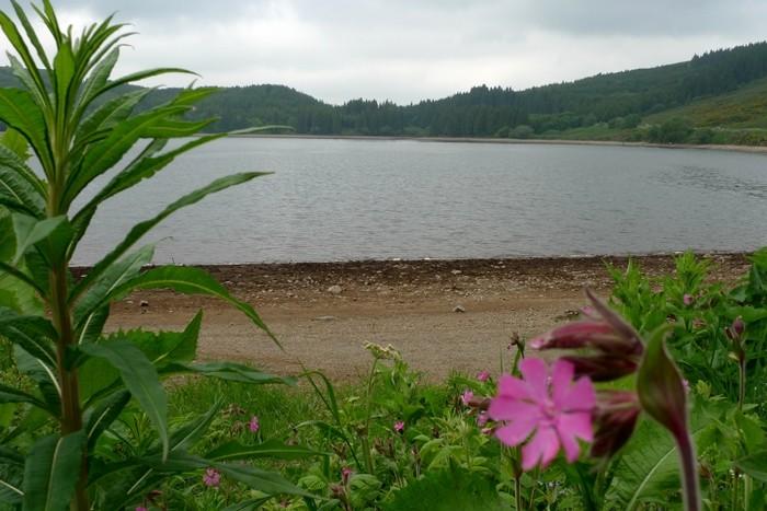 Lac de Guéry dans le Parc des Volcans d'Auvergne