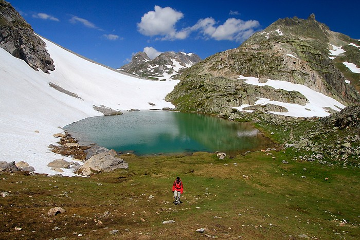 Randonn&eacute;e au lac de la Clar&eacute;e