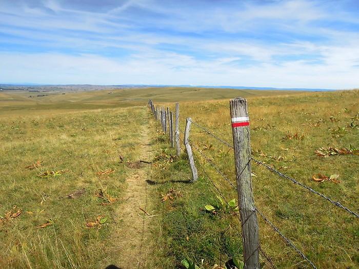 Randonnée au Signal de Mailhe-Biau. Département Lozère