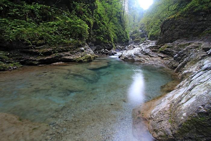 Balade dans les gorges de Kakuetta