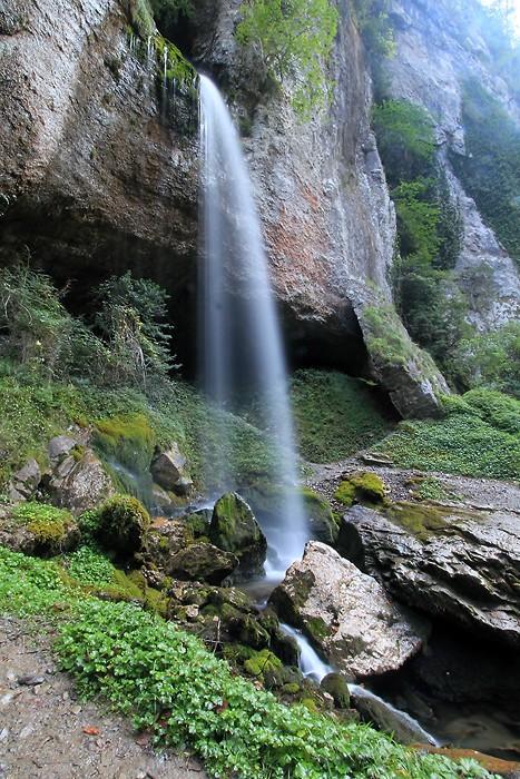 La grande cascade dans les gorges de Kakuetta