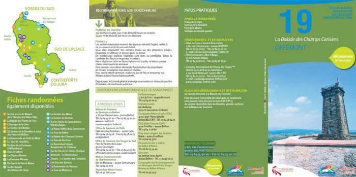 Balade : La Balade des Champs Cerisiers