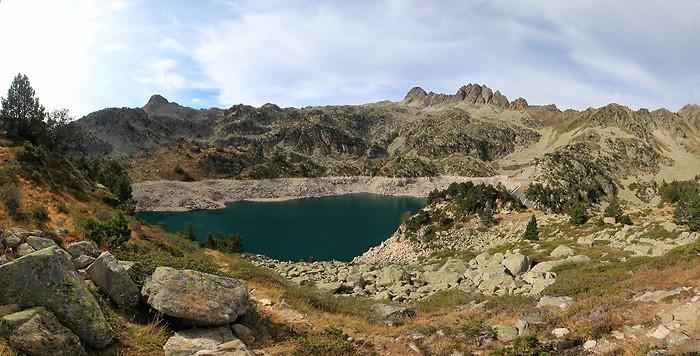 Panoramique au lac de Gréziolles