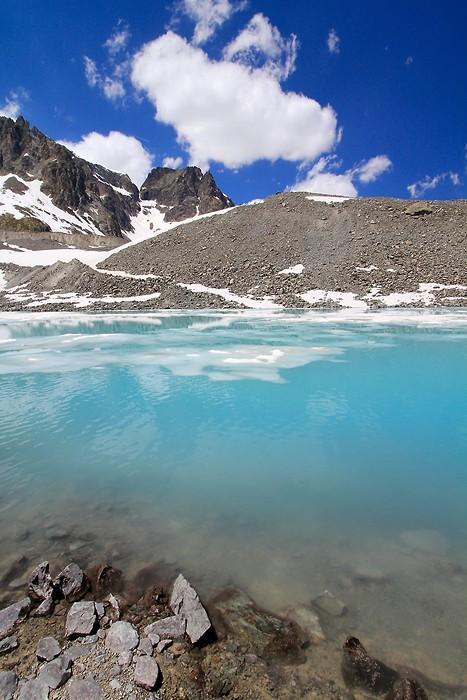 Photos au lac du Glacier d'Arsine