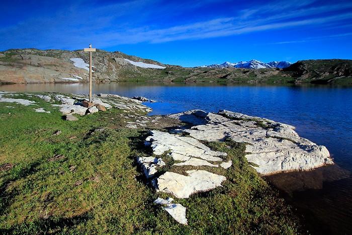 Lac Noir sur le plateau d'Emparis