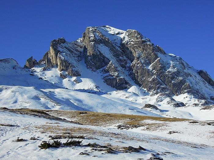 Randonnée en raquettes vers le Col de Pourteillou, Pyrénées