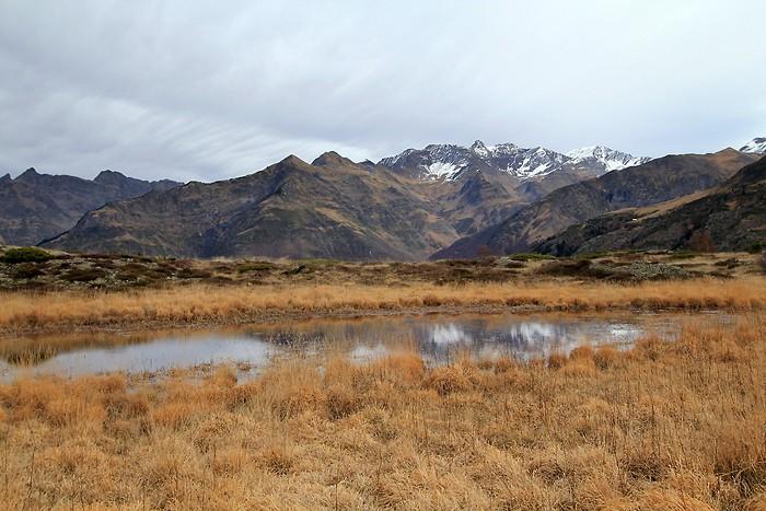 Couleurs d'automne sur le plateau de Saugué