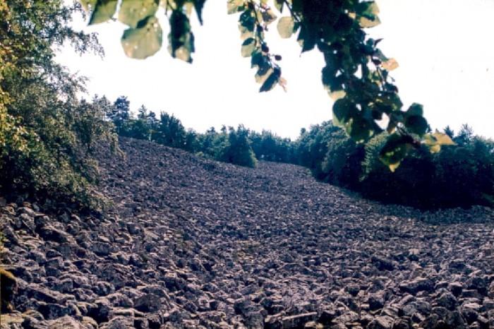 coulée de lave de Bourianne