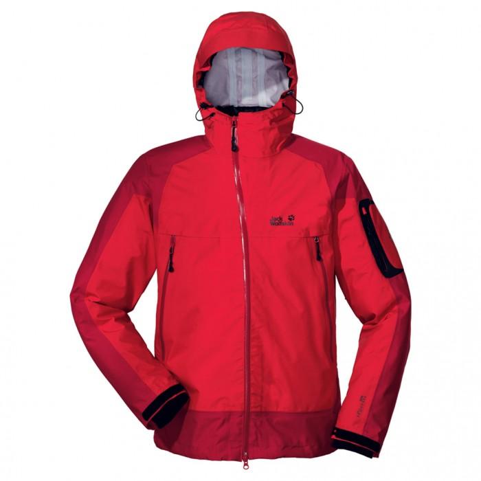 Veste d'alpinisme Jack Wolfskin Broad Peak XT rouge