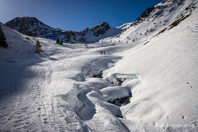 Ski de randonnée vers le lac Dets Coubous
