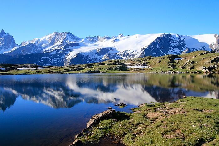 Lac Noir au plateau d'Emparis