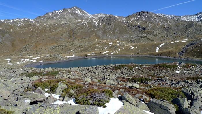 Randonnée au Lac Rond, Vallée de la Clarée, Alpes