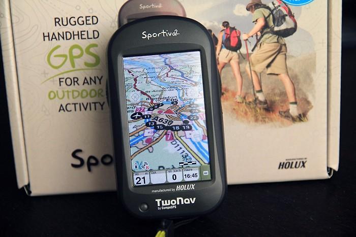 GPS de randonnée Twonav Sportiva 2