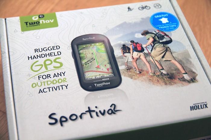 Boite GPS de randonnée Twonav Sportiva 2