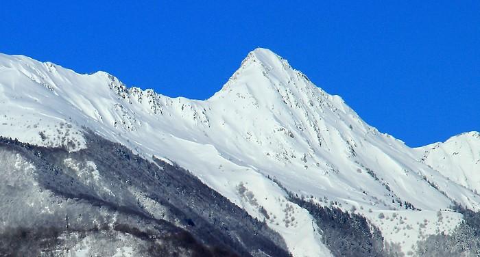 Pic de Viscos sous la neige