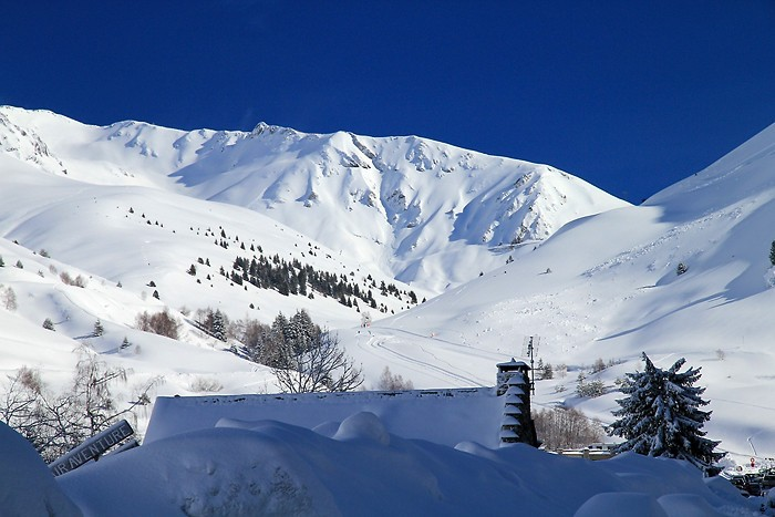 Station de ski côté Barèges