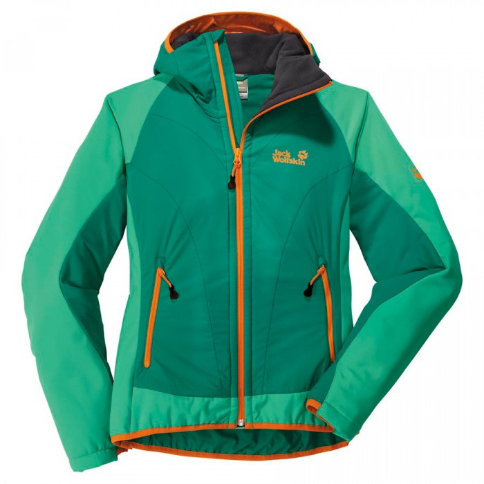 Veste softshell Jack Wolfskin Compound Jacket Verte