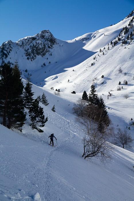 Ski de randonnée à Barèges