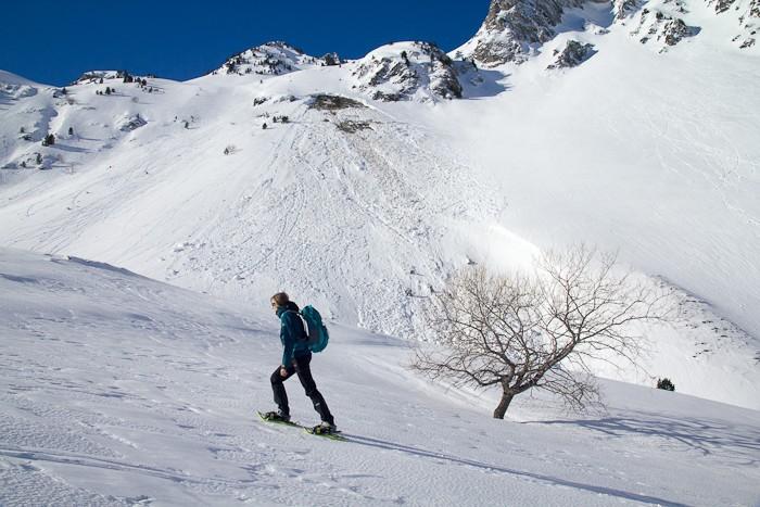 Beaucoup de neige et quelques départs d'avalanche