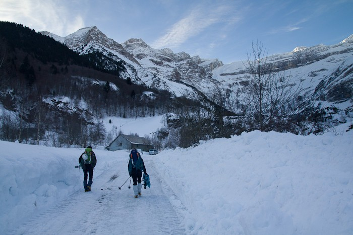 Randonnée pédestre : Randonnée jusqu'à l'hôtel du cirque et de la cascade de Gavarnie