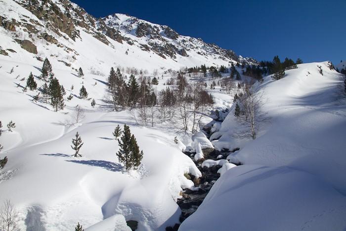 Soleil et neige à Barèges