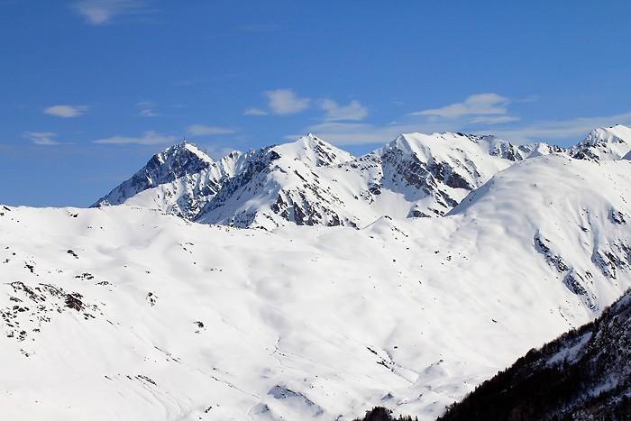 Pic du Midi depuis Hautacam