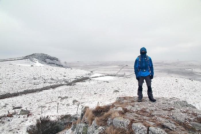 Sur le plateau de l'Aubrac il fait froid