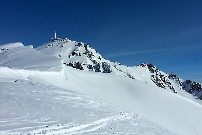 Pic du Midi depuis la station de ski de La Mongie
